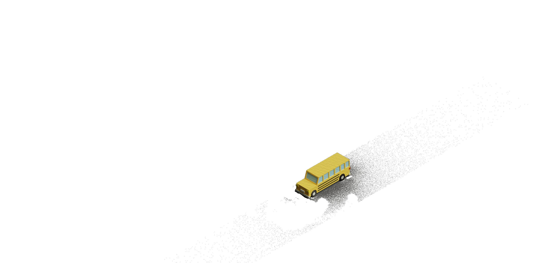 papercraft street bus