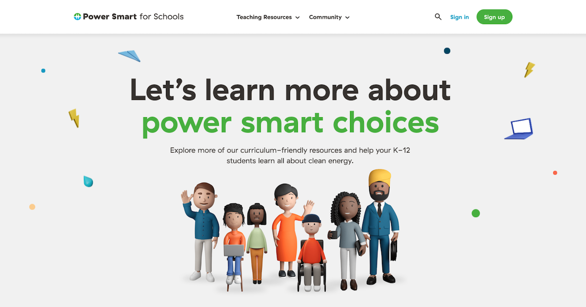 All Lessons Bchydro Power Smart For Schools Fun Activity Teaching Electricity